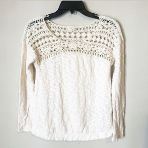 Anthropologie   Meadow and Rue Knitted Top